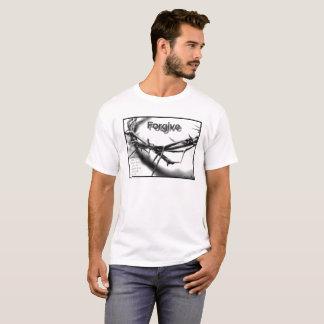 T-shirt Pardonnez la pièce en t des hommes