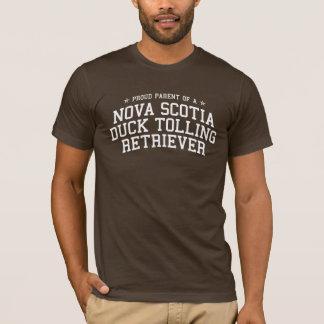T-shirt Parent fier de chien d'arrêt de tintement de