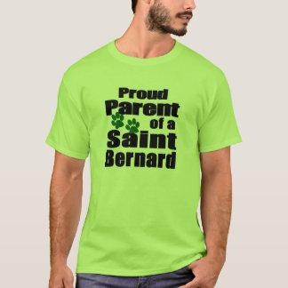 T-shirt Parent fier de St Bernard
