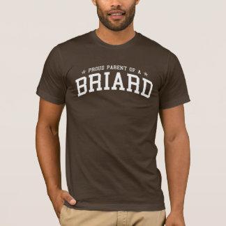 T-shirt Parent fier d'une pièce en t d'obscurité de Briard