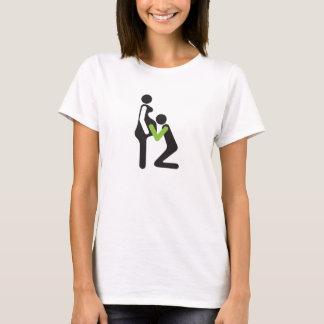 T-shirt parents pour être - tâche accomplie
