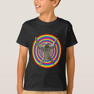 T-shirt Paresse d'arc-en-ciel
