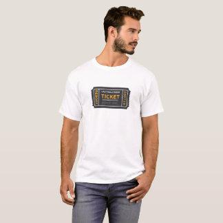 T-shirt paresseux de billet de Hollywood