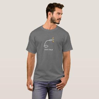 T-shirt paresseux de microphone d'entretien