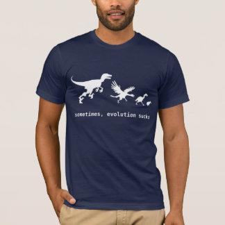 T-shirt Parfois, l'évolution suce