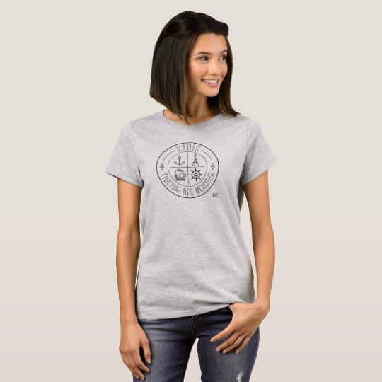 """T-shirt PARIS """"Fluctuat nec mergitur"""""""