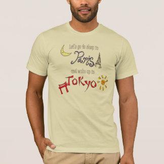 T-shirt Paris - Tokyo