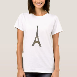 T-shirt Paris : Tour Eiffel : Dessin de vecteur :
