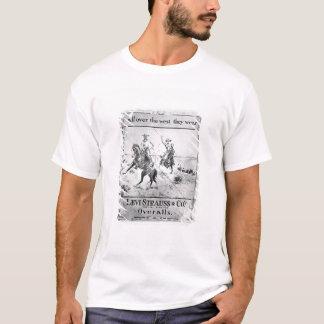T-shirt Parlez pour Lévi Strauss et Co, c.1900 (le litho)