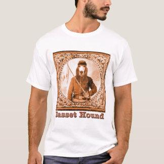 T-shirt Parodie de guerre civile de basset