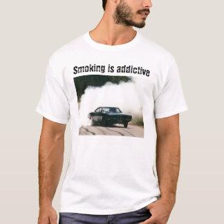T-shirt Parodie de tabagisme