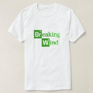 T-shirt Parodie drôle de vent de rupture la mauvaise