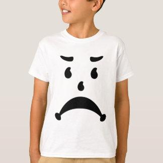 T-shirt Parodie triste fâchée de l'enfant 80s