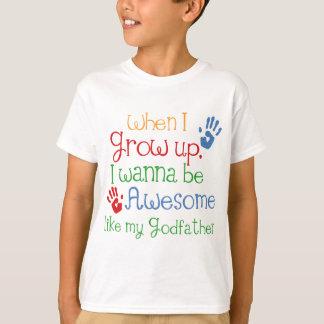 T-shirt Parrain impressionnant de cadeau de filleul