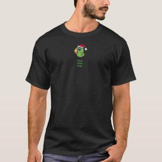 T-shirt Parrotlet dans le casquette de Père Noël