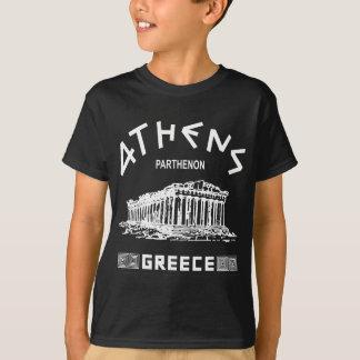 T-shirt Parthenon - Athènes - Grec (blanc)
