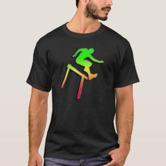 T-shirt Participant à une course d'obstacles lisse