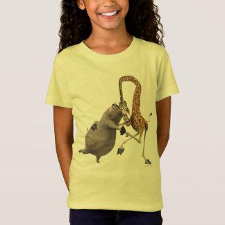 T-Shirt Participation de Gloria et de main de Melman