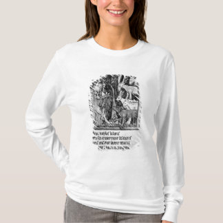 T-shirt Participation noble, illustration 'Roman de