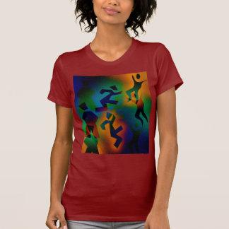 T-shirt Partie de personnes - stupéfaction foncée -