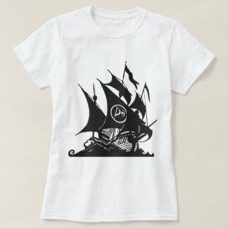 T-shirt Partie de pirate de bateau du Canada