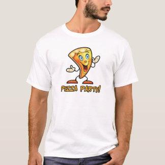 T-shirt Partie de pizza !