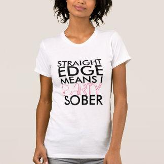 T-shirt partie sobre