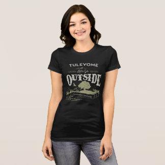 T-shirt Partons dehors, Bella Jersey T, noir des femmes