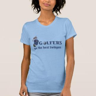 T-shirt Partouzeurs de golf