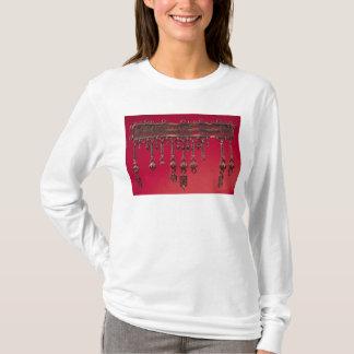T-shirt Parure avec des pendentifs de cloche