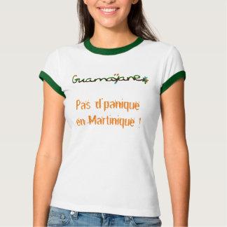 T-shirt Pas d'panique en Martinique > série hors série