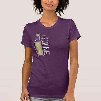 T-shirt Pas gémissement, vin