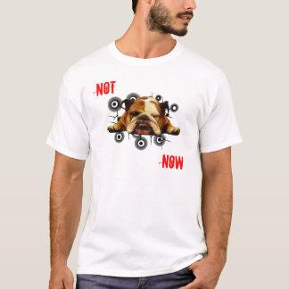 T-shirt Pas maintenant