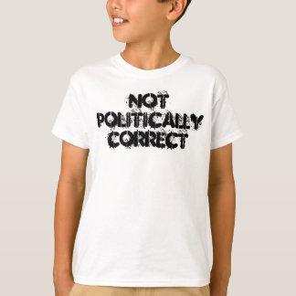 T-shirt Pas politiquement correct