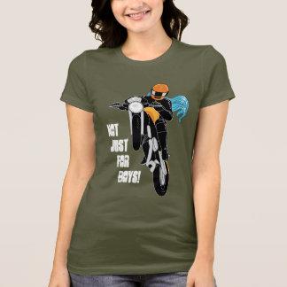 T-shirt Pas simplement pour des garçons !