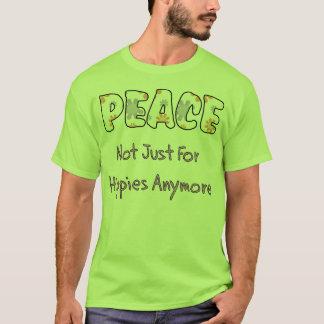 T-shirt Pas simplement pour des hippies