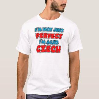 T-shirt Pas simplement Tchèque parfait