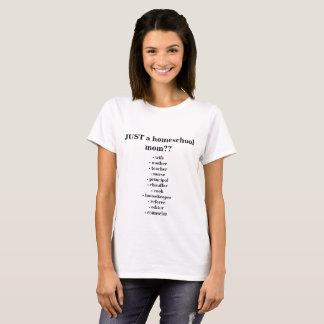 T-shirt PAS SIMPLEMENT une maman de Homeschool