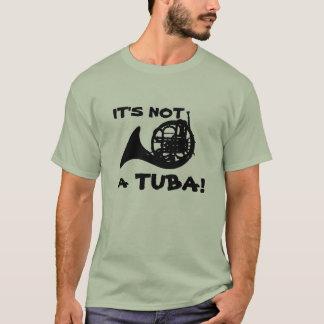 T-shirt Pas un tuba !