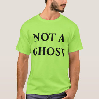 T-shirt pas une pièce en t de fantôme