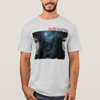 T-shirt Pas vampire : Alien