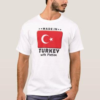 T-shirt Passion de la Turquie