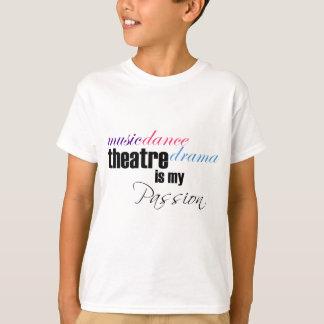 T-shirt Passion de théâtre