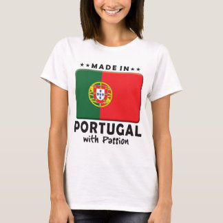 T-shirt Passion du Portugal