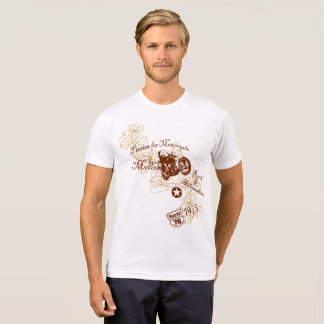 T-shirt Passion vintage de style pour la conception de
