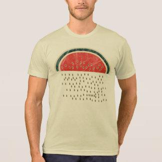 T-shirt Pastèque pleuvant des graines