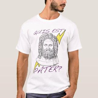 T-shirt Pater d'est de Quis ? (Qui est votre papa ?)
