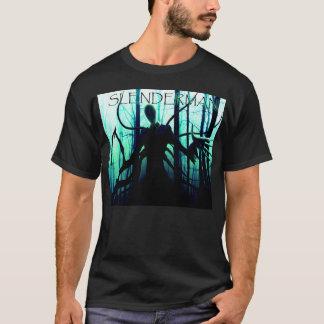 T-shirt Pâtes déplaisantes d'homme mince de Slenderman
