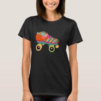 T-shirt Patin de disco de rouleau