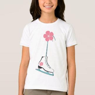 T-shirt Patin de glace